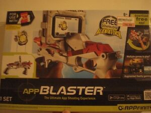 APP   Blaster  Game To  play with  iphone or Android Cell.