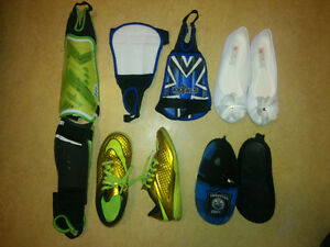 (Soccer) Shoes and shin guards