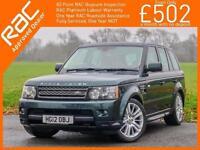 2012 Land Rover Range Rover Sport 3.0 TDV6 Turbo Diesel 255 BHP HSE 4x4 4WD 6 Sp