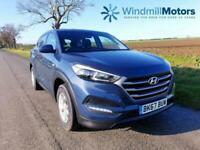 HYUNDAI TUCSON 1.6 GDI BLUE DRIVE S (S/S) 5DR BLUE - HYUNDAI WARRANTY
