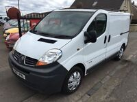 2007 RENAULT TRAFIC, 1 YEAR MOT, WARRANTY, NOT TRANSIT RELAY BOXER SPRINTER