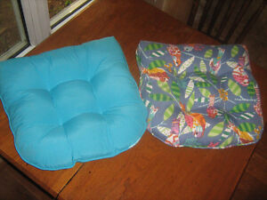 2 Chair Cushions - excellent condition