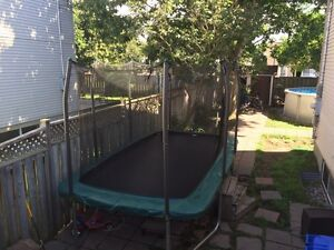 Trampoline rectangle  14x8