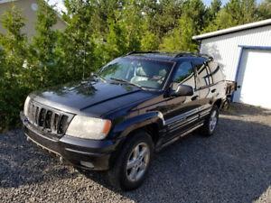 Jeep grand cherokee 2003 overland 4.7L