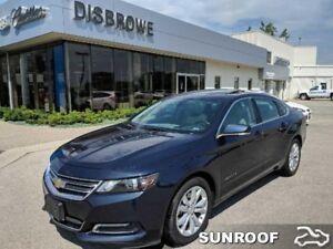 2018 Chevrolet Impala LT  V6, Leather, Sunroof