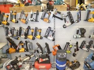 WIDE VARIETY OF AIR TOOLS