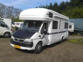 Auto Trail Cheyenne 660se 2005, Sleeps 6, Rear Fixed Bed, Highly Recommended.