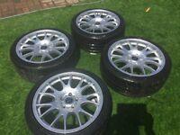Subaru tyres with free MOTORSPORT wheels