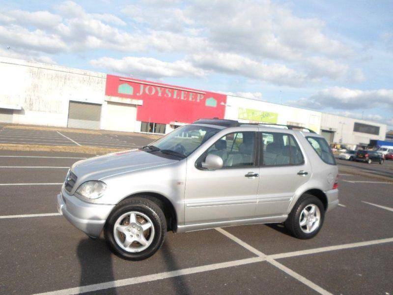 2001 mercedes benz m class 2 7 ml270 cdi 5dr in wembley for 2001 mercedes benz m class