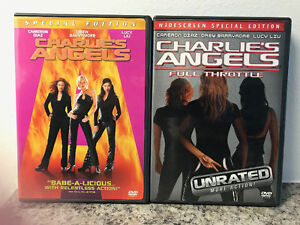Charle's Angels and Charles's Angels Full Throttle DVDs