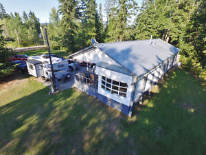 2272 Jeff Road Quesnel - 1 acre with 3 bed home in Yendres Sub