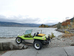 Fiberglass dune buggy wanted.