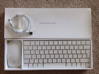Apple Magic Mouse 2 & Magic keyboard (plus USB to Thunderbolt cable). Brand new and barely used.