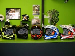 ATV / MX Helmets - 5 Colours - Small to 2XL at RE-GEAR