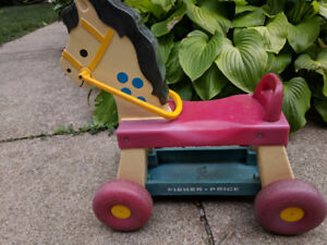 Fisher Price Ride on Horse - Vintage