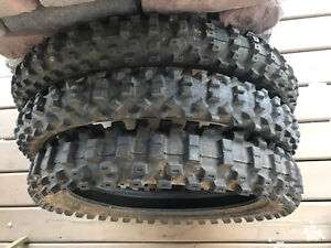 MX tires for CRF250R