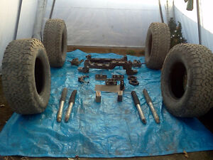 "Liftkit 6"" for  2500hd and tires"