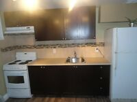 Availible Now New basement aprt fridge,stove,heat,hydro,included