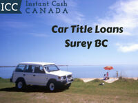 Car Title Loans Surrey BC