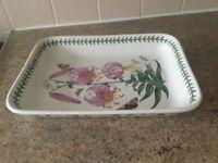 Portmerion Botanic Garden Lasagne Dish. Rare Austrian Lily design.