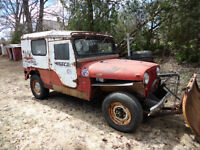 1966 JEEP TUXEDO PARK CJ-6 Rare Holy Grail JEEP Project