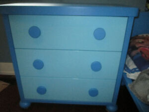 Blue Bedroom set for ages 2-9 approximately