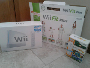 Nintendo Wii and accessories still in original packaging