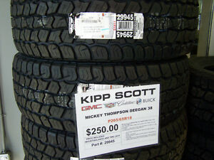 P265/65R18 Mickey Thompson Deegan 38 Tires $250