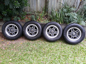 Ford falcon bathurst globe style wheels