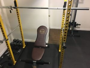FULLY ASSEMBLED Home Gym (Brand New)
