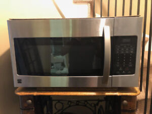 Kenmore - Stainless Steel - Over the Stove – Microwave