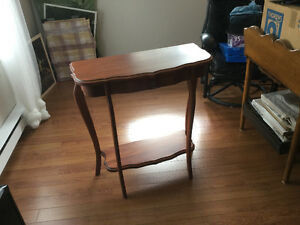 Table console