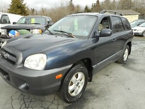 2005 Hyundai Santa Fe tax included SUV, Crossover