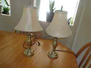 """19"""" table lamps"""