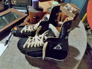 Paire de patins vintage
