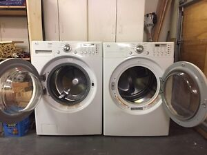 LG High Efficient Washer and Dryer