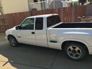 1998  Chevy S10 Extended Cab Sport Side