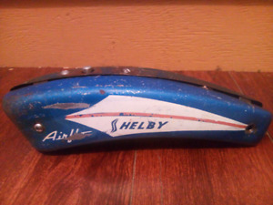 Vintage 50s Shelby Airflo Bicycle Horn Tank Still Works