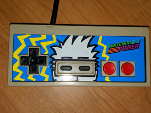 NES NINTENDO POWER CONTROLLER (tested/works)
