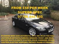 FROM £249.89 PER MONTH BIG SPEC BMW 520 2.0TD SE DIESEL AUTOMATIC 4 DOOR