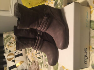 MJUS wasdale wedge boot. Grey size 8(39)