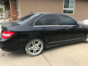 2010 Mercedes-Benz C-Class C350 4-MATIC SALVAGE TITLE