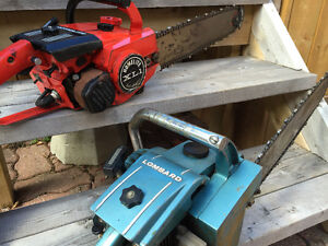 TWO CHAIN SAWS $100!!!!!!