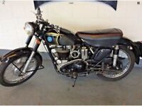 Ride Away Today Vintage AJS 18s 500 1954 Investment Opportunity