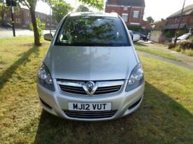 image for 2012 Vauxhall Zafira 1.6i 16v VVT (115ps) Exclusiv 1 OWNER+FULL VUXHALL SH+PHONE