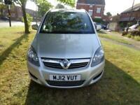 2012 Vauxhall Zafira 1.6i 16v VVT (115ps) Exclusiv 1 OWNER+FULL VUXHALL SH+PHONE