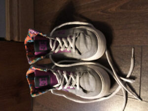 $25.00 size 4 DC girls sneakers