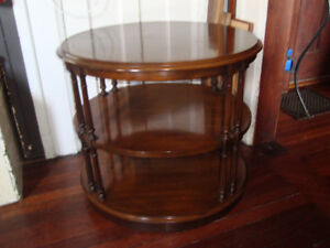 three tiers end table
