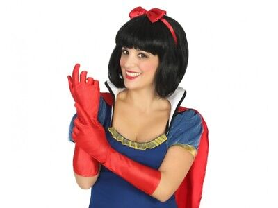 Long Red Gloves Cheap (long gloves Red 40cm Costume Woman Charleston Star Marriage NEW)