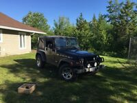 2005 Jeep Wrangler Coupe (2 door)